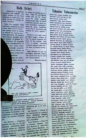HÜSEYİN KÖYCÜ-ŞENKAYA GAZETESİ (1950-1955)